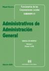 Administrativos de Admón. Gral. de las Corporaciones Locales