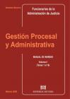 Gestión Procesal y Administrativa (Tomo I)